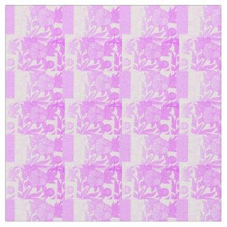 Modelo púrpura de la tela de los Peonies Telas