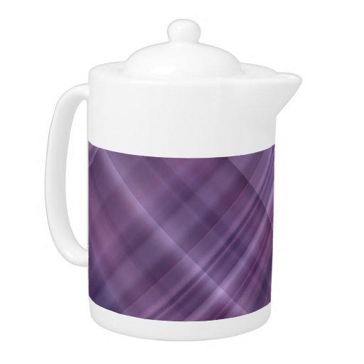 Modelo púrpura de la tela escocesa