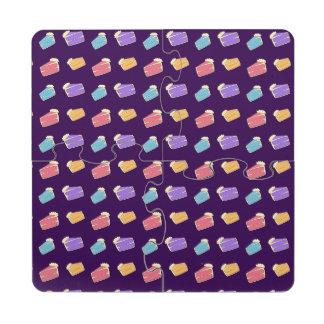 Modelo púrpura de la torta