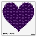 Modelo púrpura de la vaca