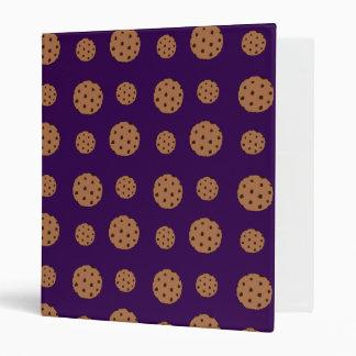 Modelo púrpura de las galletas de microprocesador