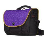 Modelo púrpura de moda del círculo bolsas para portatil