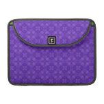 Modelo púrpura de moda del círculo funda macbook pro