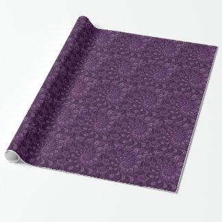 Modelo púrpura del arte del fractal del remolino