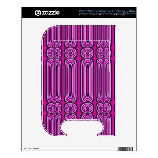 Modelo púrpura del círculo VTech V.Reader skins