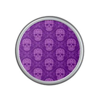 Modelo púrpura del cráneo del azúcar altavoz