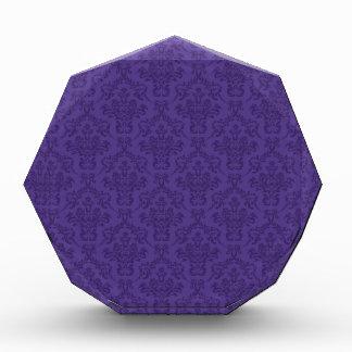Modelo púrpura del damasco