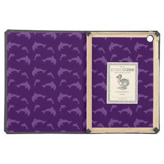 Modelo púrpura del delfín