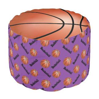 Modelo púrpura del deporte del baloncesto
