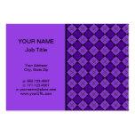 Modelo púrpura del diamante plantilla de tarjeta de visita