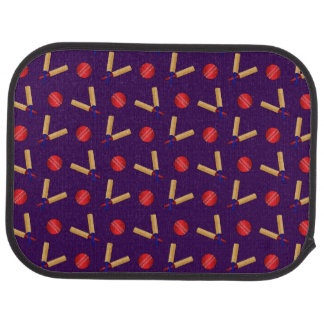 modelo púrpura del grillo alfombrilla de coche