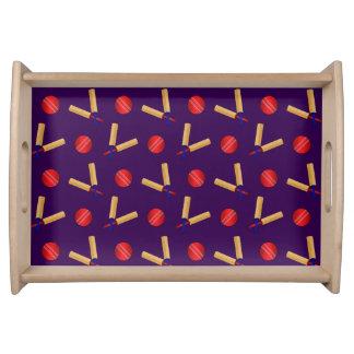 modelo púrpura del grillo bandejas