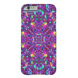 Modelo púrpura del Hippie de la mandala Funda Para iPhone 6 Barely There
