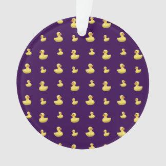 Modelo púrpura del pato