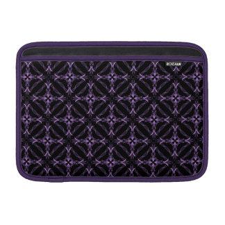 Modelo púrpura gótico del fractal del Victorian 11 Fundas Macbook Air