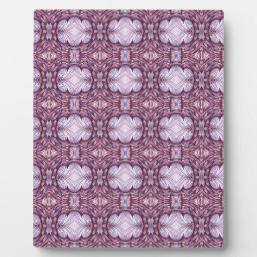 modelo púrpura gris gris pálido placa