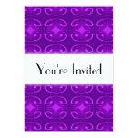 Modelo púrpura invitación 12,7 x 17,8 cm