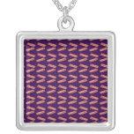 Modelo púrpura lindo del tocino joyeria personalizada