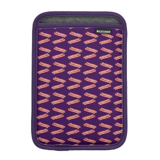 Modelo púrpura lindo del tocino fundas para iPad mini