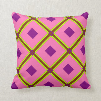 Modelo púrpura Pilllow de Chartruese del diamante Almohadas