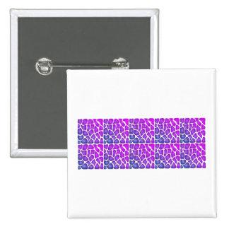 Modelo púrpura pins