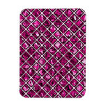 Modelo púrpura rosado del diamante imanes