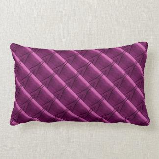 Modelo púrpura santo de la raya: OneOFaKIND Cojín