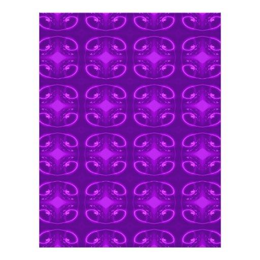 Modelo púrpura tarjetones