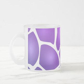 Modelo púrpura tazas de café