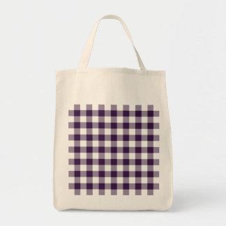 Modelo púrpura y blanco de la guinga