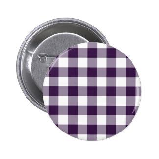 Modelo púrpura y blanco de la guinga pins