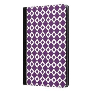 Modelo púrpura y blanco del diamante