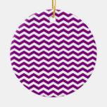 Modelo púrpura y blanco violeta de Chevron del zig Ornatos
