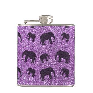 Modelo purpúreo claro del brillo del elefante