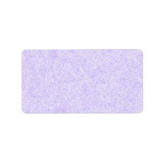 Modelo purpúreo claro del fondo etiqueta de dirección