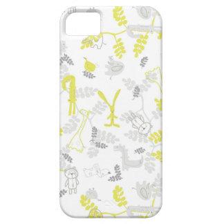 modelo que exhibe los animales 2 del bebé iPhone 5 carcasas