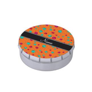 Modelo que hace punto anaranjado conocido jarrones de dulces