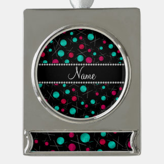 Modelo que hace punto negro conocido personalizado adornos personalizables