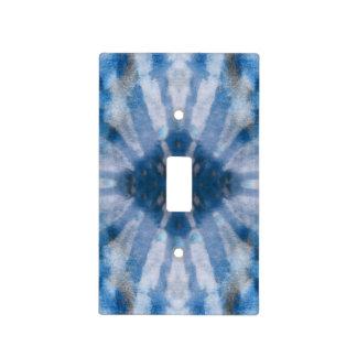 Modelo radial blanco azul del punto de los rayos d cubierta para interruptor