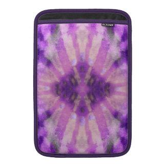 Modelo radial violeta púrpura del punto de los ray