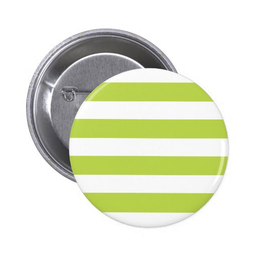 Modelo rayado de la verde lima de moda pins