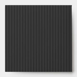 Modelo rayado de las rayas muy gris oscuro sobres