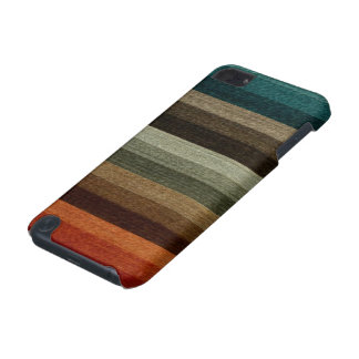 Modelo rayado del otoño caliente del vintage, funda para iPod touch 5G