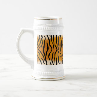 Modelo rayado del tigre jarra de cerveza
