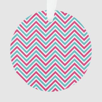 Modelo rayado del zigzag rosado azul fresco de Che