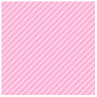 Modelo rayado diagonal rosado del caramelo imán fotoescultura