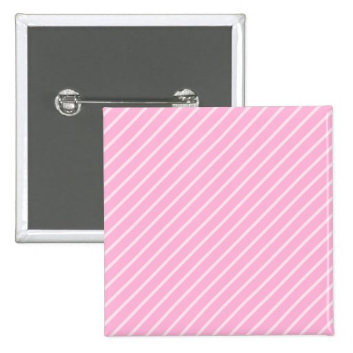 Modelo rayado diagonal rosado del caramelo pin