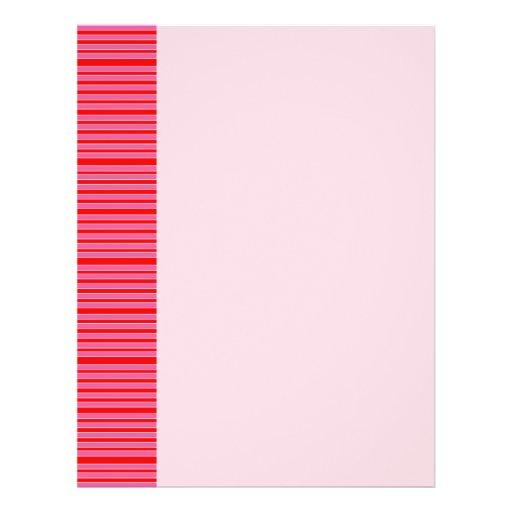 Modelo rayado rosado tarjetas publicitarias