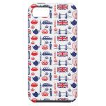 Modelo real de las señales de Londres iPhone 5 Case-Mate Cárcasa