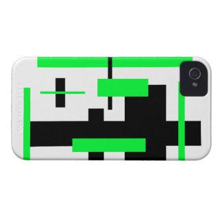 Modelo rectangular 53 iPhone 4 Case-Mate funda